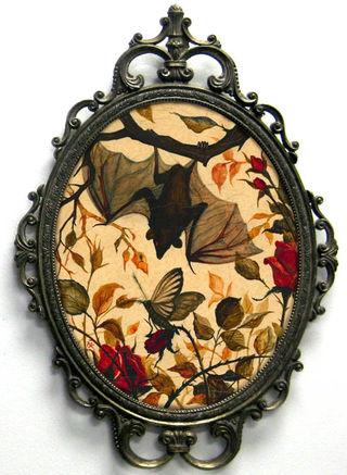 Bat painting