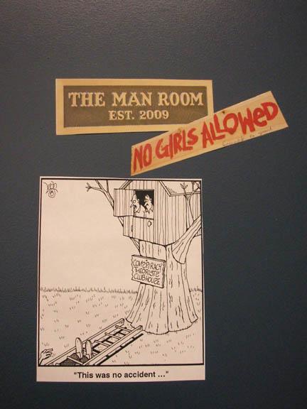 Man room