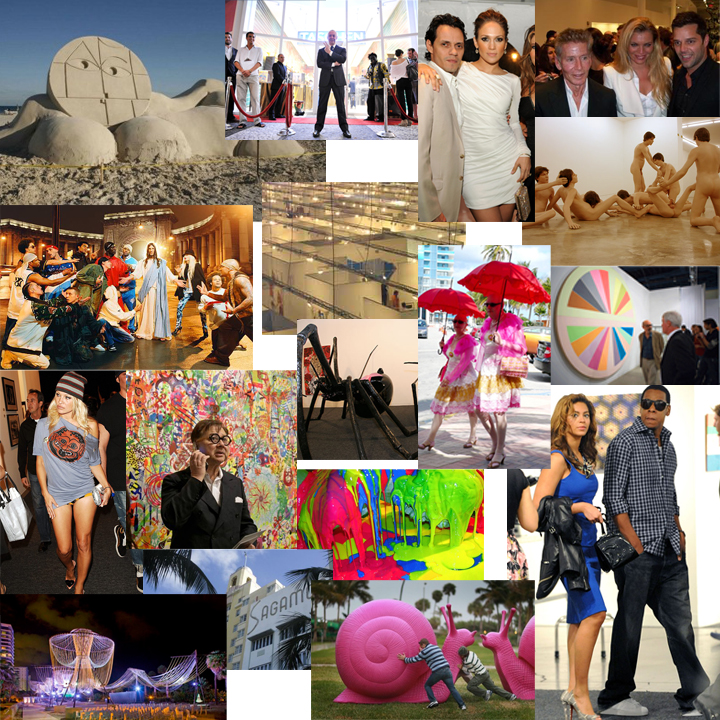 Art basel collage