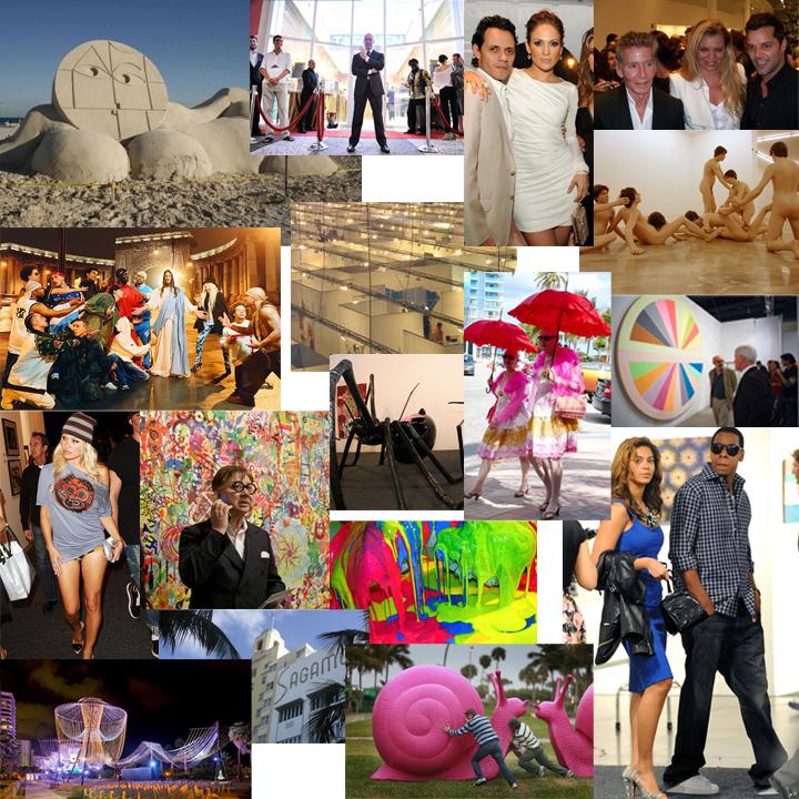 Art basel collage