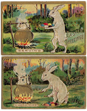 Creepy Easter Rabbits Eating Embryos Part 3