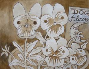 Dogflowers_underpainting