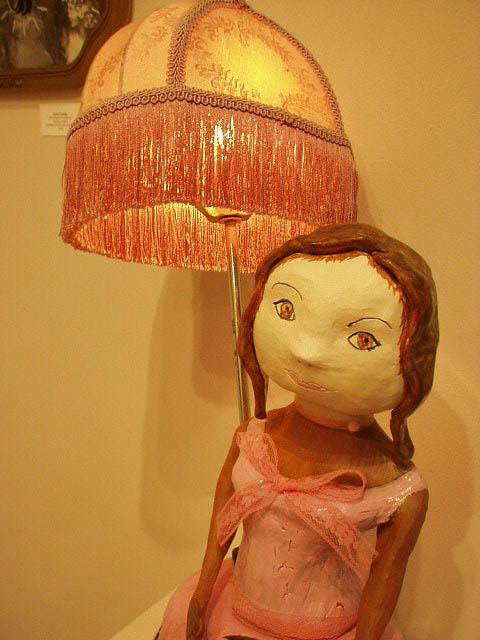 Saya's Lamp (detail)