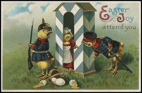 Creepy Easter #2: Military!