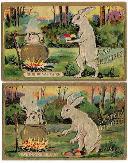 Creepy Easter: Rabbits Eating Embryos part 3