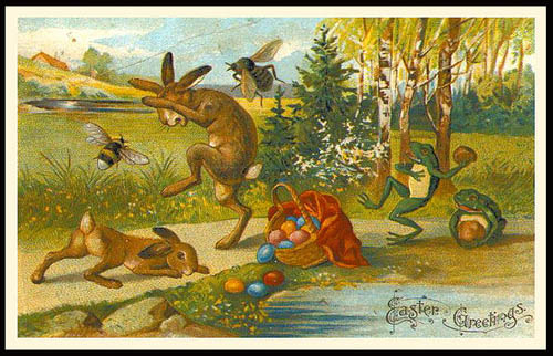 Creepy Easter: More Anti-Rabbit Sentiments