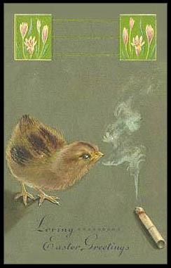 Creepy Easter: Smoking, part 3
