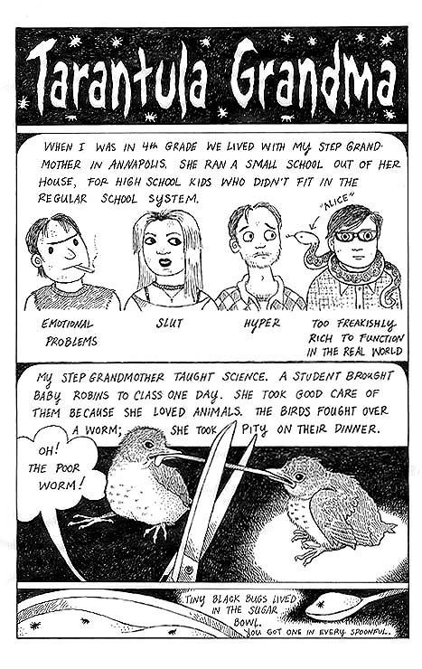 Tarantula Grandma (page 1)