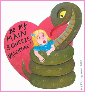 Valentines for snakes
