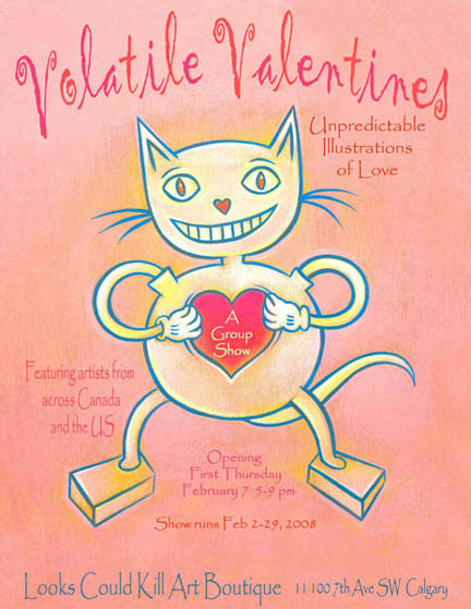Volatile Valentines: a group show