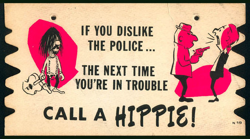 Tacky Plax: Hippie vs Cop!