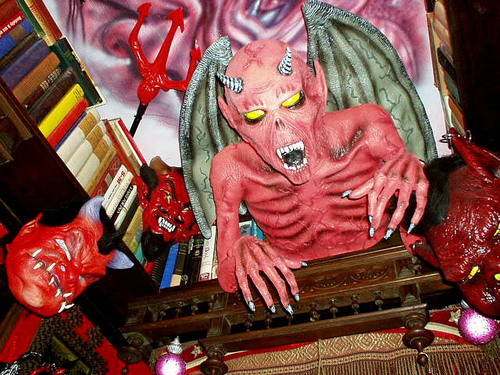 Devil Room ceiling