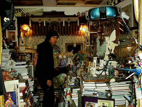 Ian and books