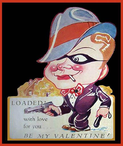 Vintage Valentines: Gangster of Love
