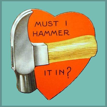 Hammer Time Valentine