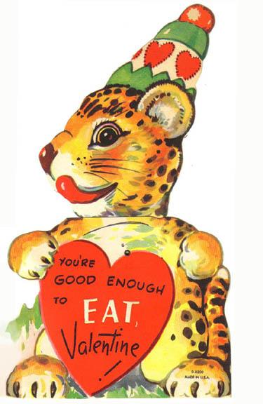 Vintage Valentines: Good Enough to Eat