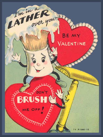 Vintage Valentines: A Close Shave