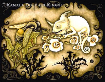 Albinochameleon